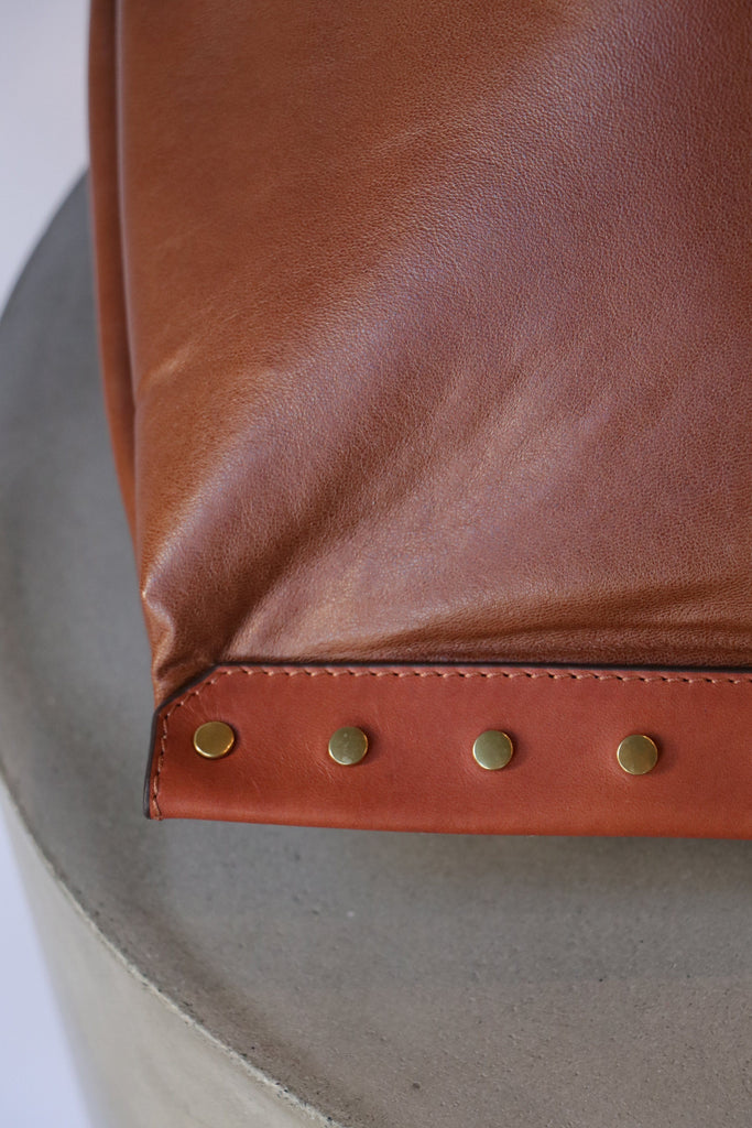 Isabel Marant Etoile Studded Leather Bag in Cognac Accessories Isabel Marant Etoile