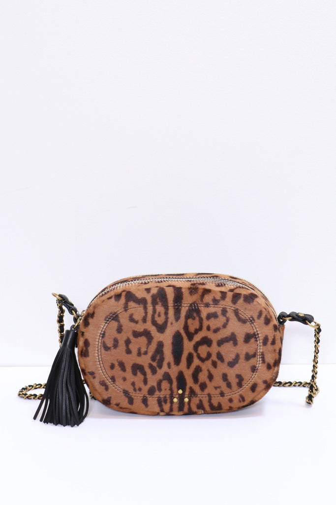 Jerome Dreyfuss Marc Bag in Leopard - WE ARE ICONIC