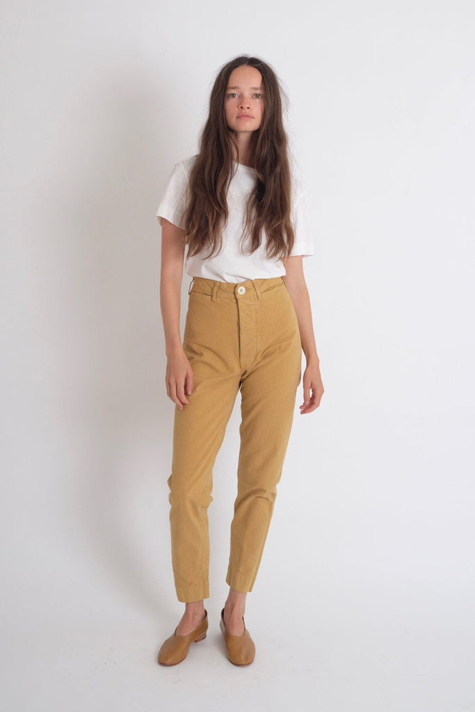 Jesse Kamm Ranger Pant in Wheat - WE ARE ICONIC