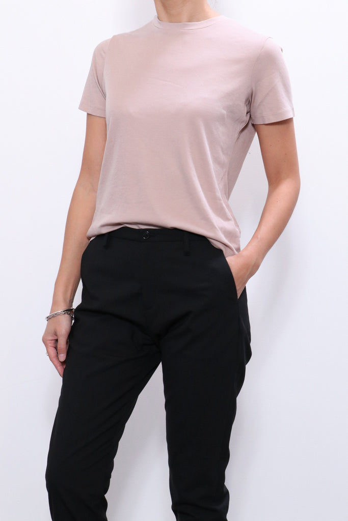 John Elliott High Twist Cotton Tee in Soapstone - WE ARE ICONIC