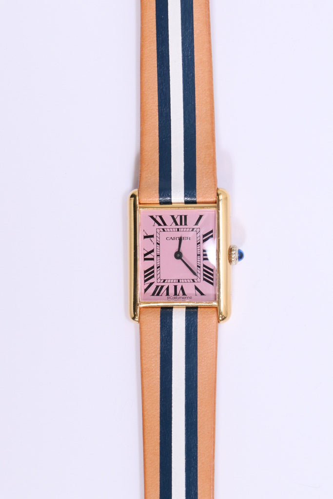 La Californienne Cartier Tank Large Flamingo/Brenton - WE ARE ICONIC