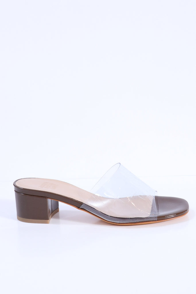 Maryam Nassir Zadeh Agatha Slide in Clear Croc