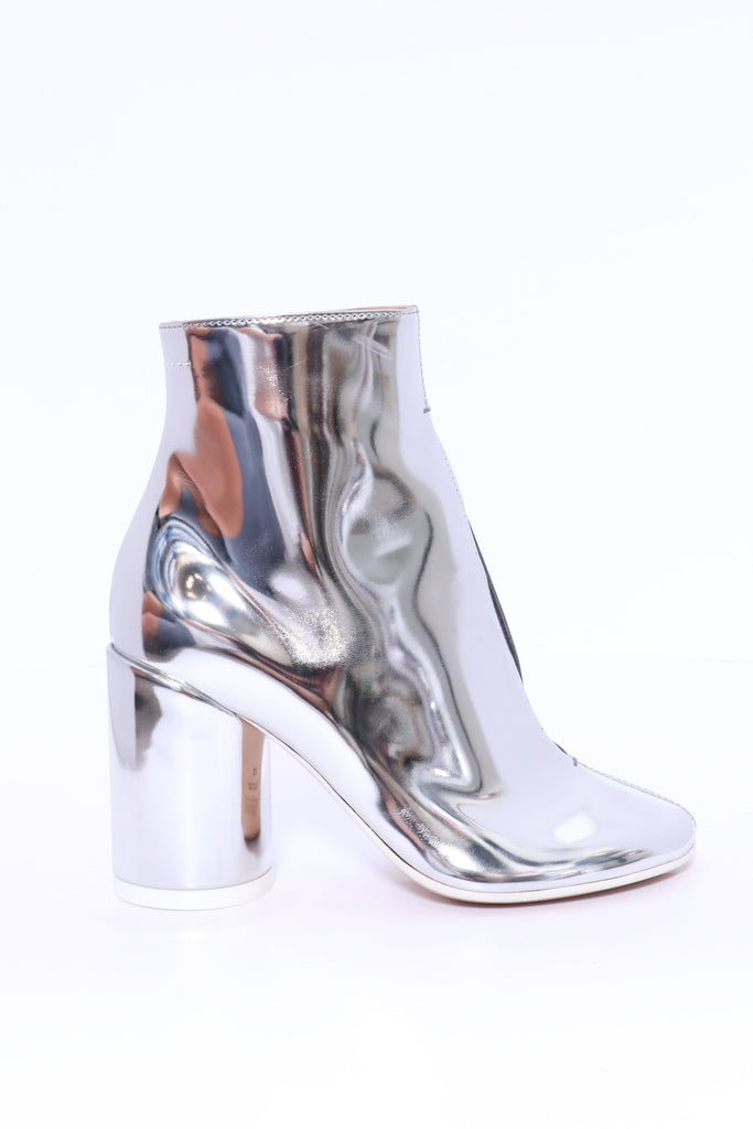 MM6 Maison Margiela Ankle Boot in Silver