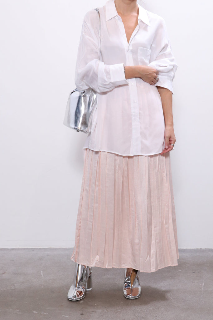 MM6 Maison Margiela Skirt in Blush