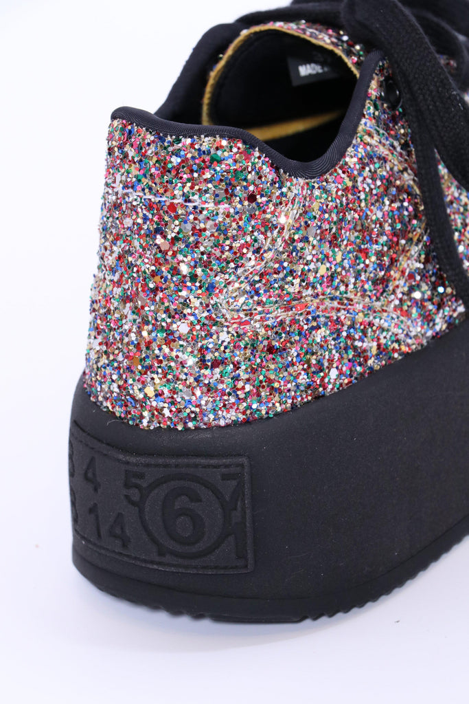 MM6 Maison Margiela Sneakers in Multi Glitter