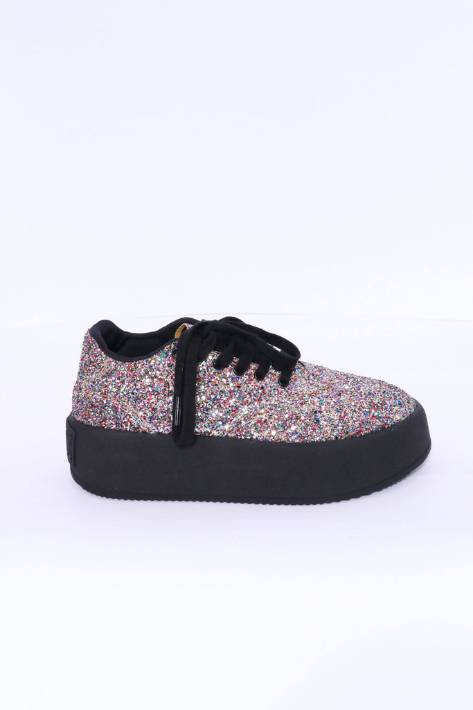 MM6 Maison Margiela Sneakers in Multi GlitterMM6 Maison Margiela Sneakers in Multi Glitter
