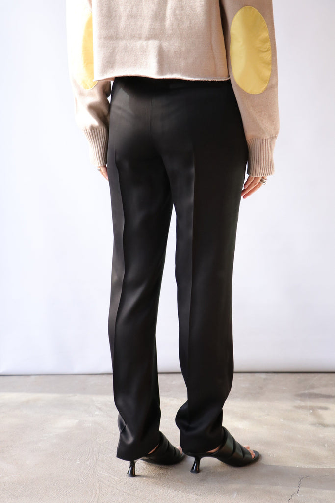 MM6 Maison Margiela Straight-Leg Tailored Trousers Bottoms MM6 Maison Margiela