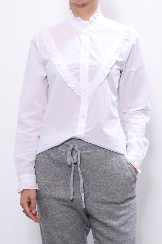 Nili Lotan Marcela Shirt in White