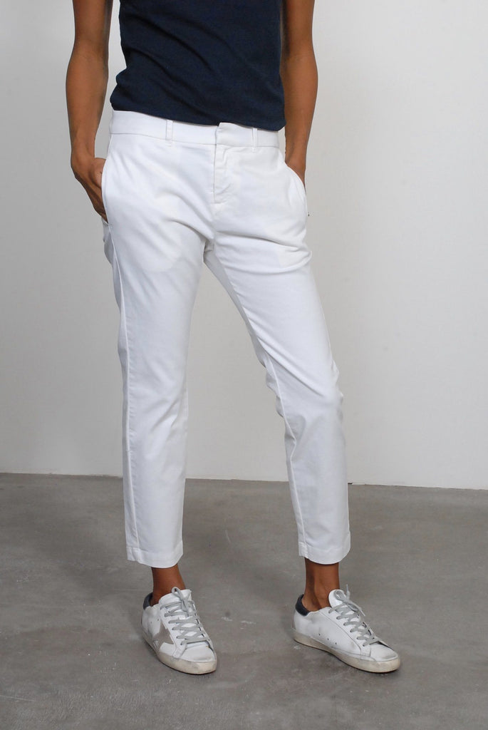 Nili Lotan Tel Aviv Pant in Eggshell - WE ARE ICONIC