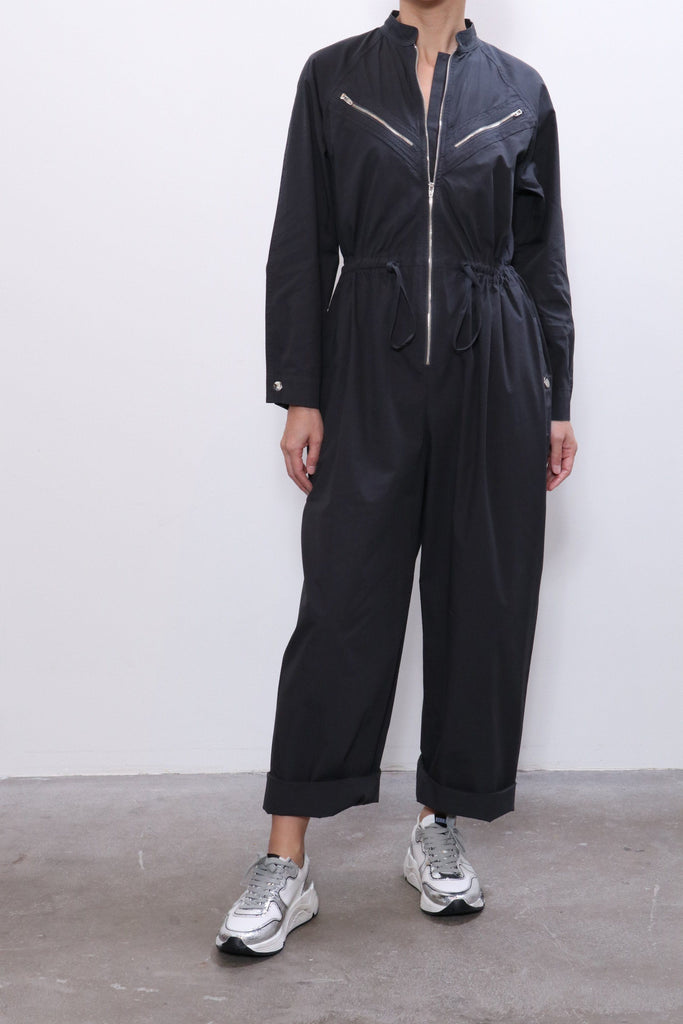 Overlover Fairfax Jumpsuit in Cool Black