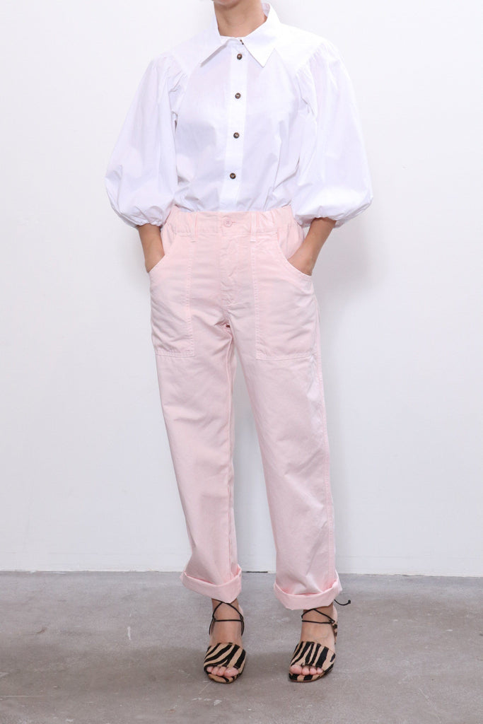 Overlover Topanga Cotton Pant in Rose