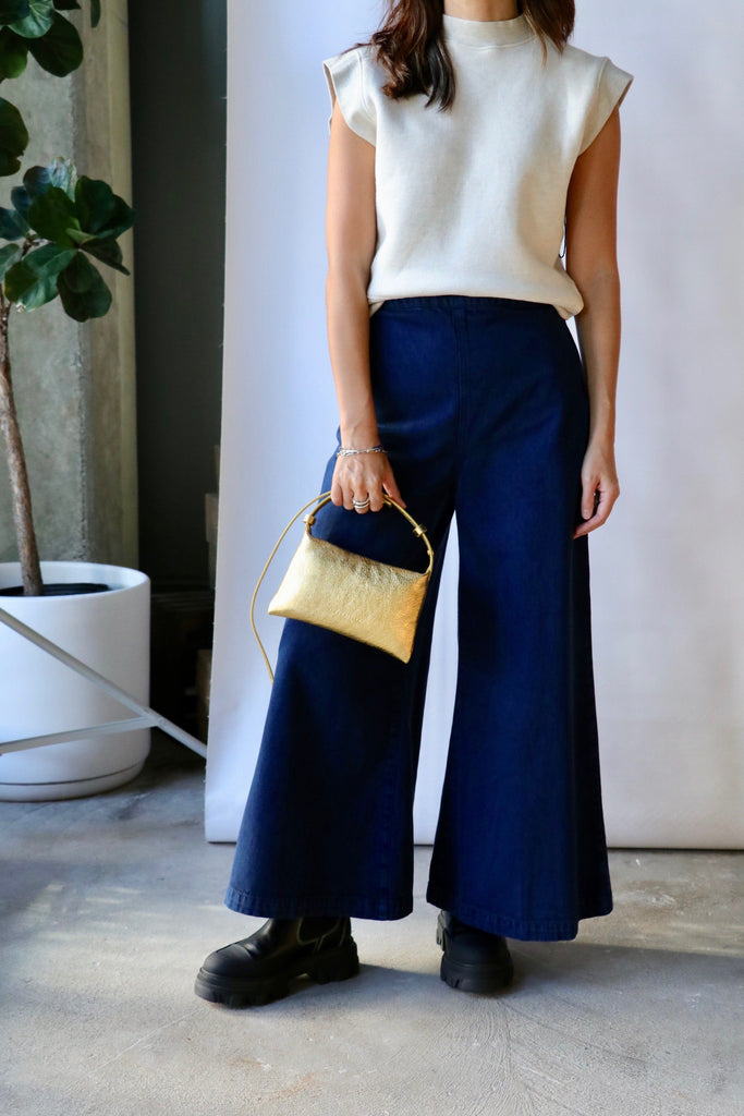 Rachel Comey Absolute Pant in Navy Bottoms Rachel Comey