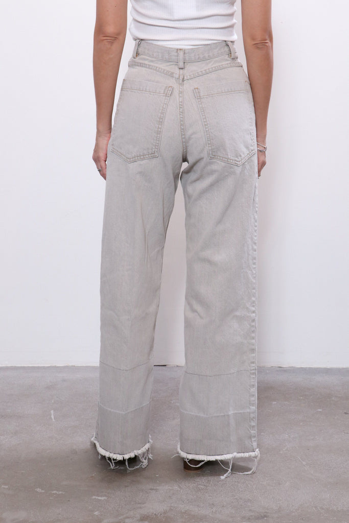 Rachel Comey Legion Pant in Khaki Wash Denim