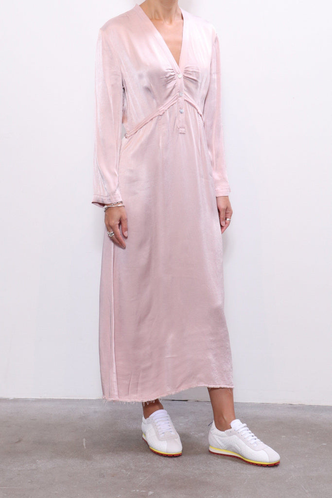 Raquel Allegra Camille Dress in Rose - WE ARE ICONIC