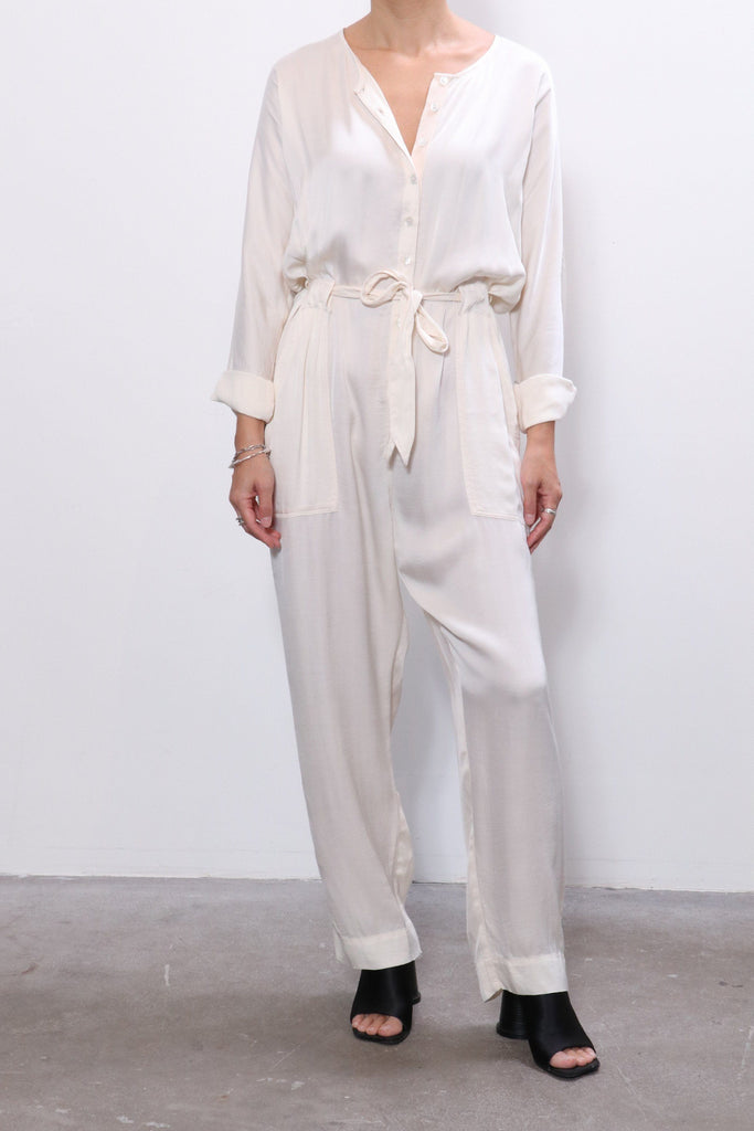 Raquel Allegra Jumpsuit in Cream