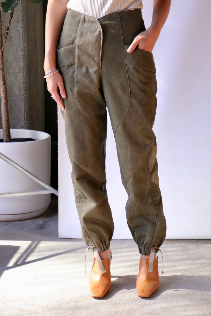 RtA Zelie Pant in Timber Bottoms RtA