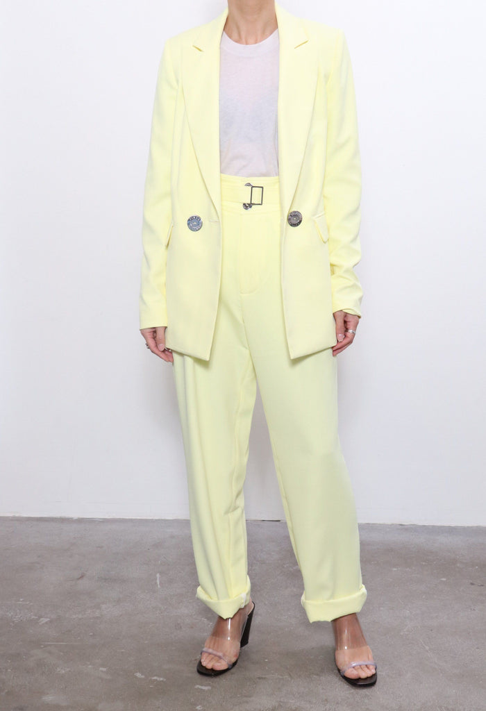 Simon Miller Galen Blazer in Sea Lemon