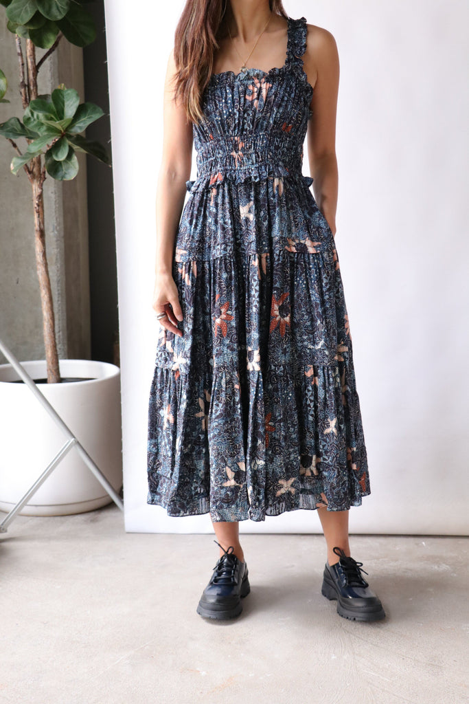 Ulla Johnson Annisa Dress in Azul Dresses Ulla Johnson