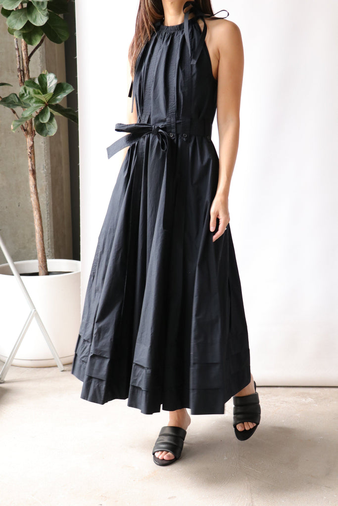 Ulla Johnson Joni Dress in Noir Dresses Ulla Johnson