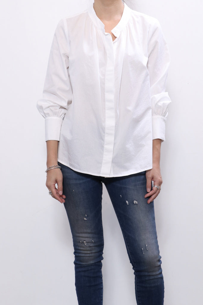 Xirena Lila Shirt in Crystal White