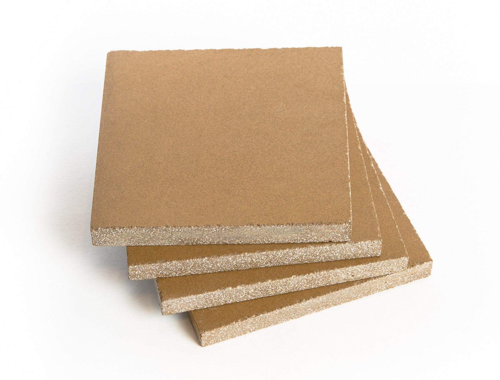 looking for a great customized gift check out our beverage  -  concrete beverage coasters (butter color)