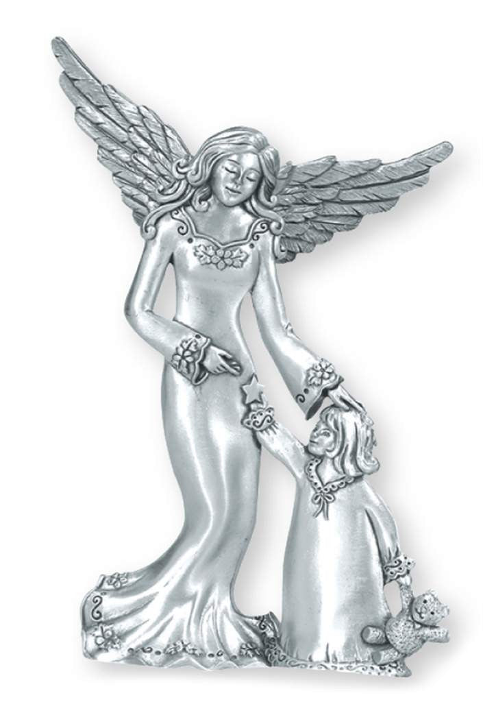 Angel w/ Child Standing Ornament SO-44