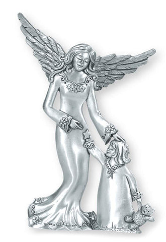 Angel w/ Child Standing Ornament