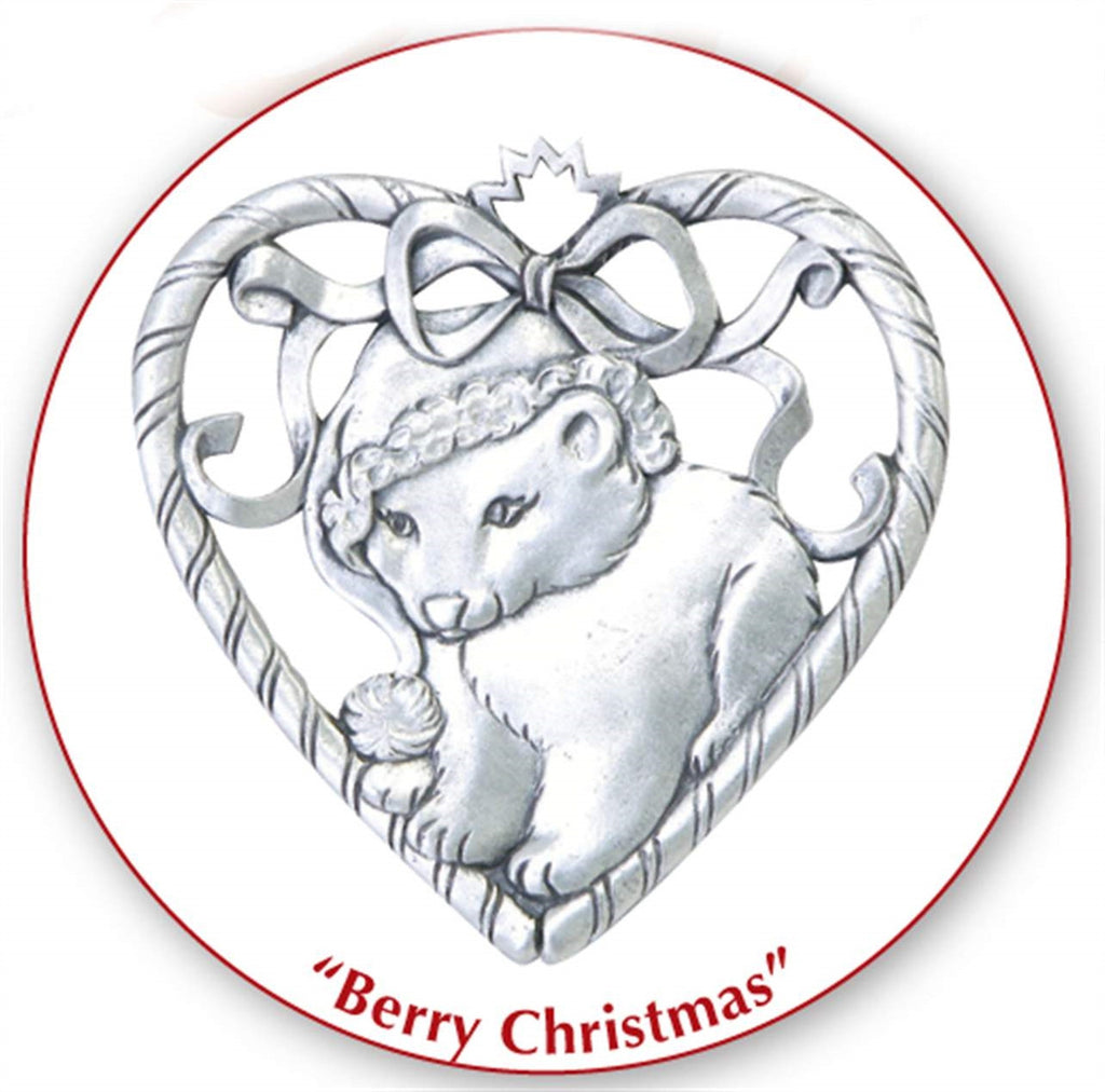 Baby Polar Bear Ornament MC-2