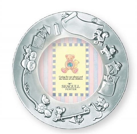 Baby Record 3.5x3.5 round frame