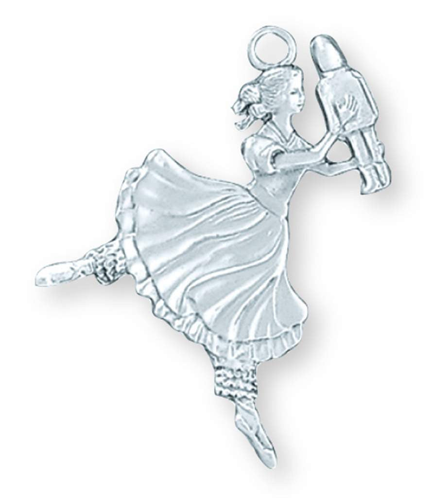 Ballerina Small Ornament SC-84