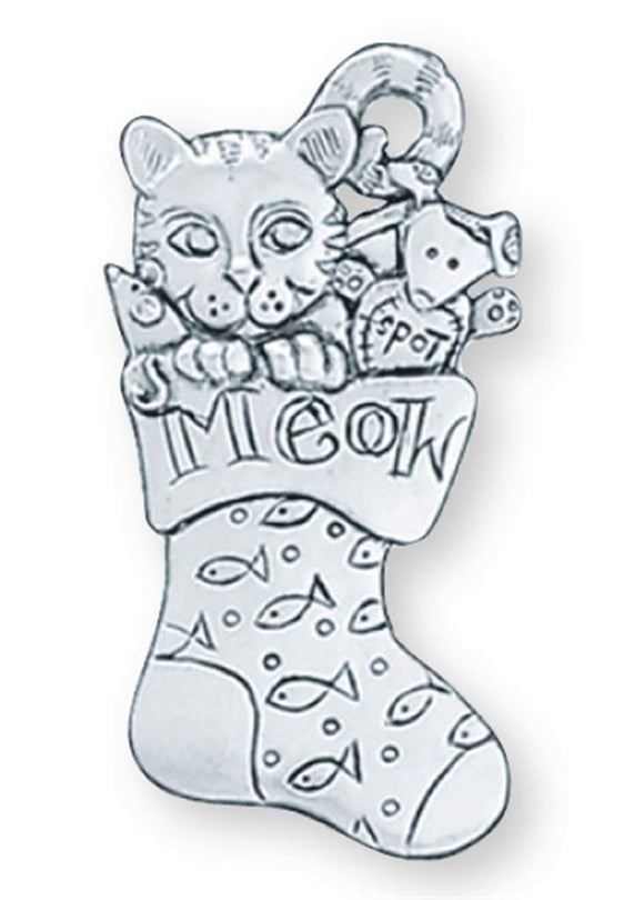 Cat / Sock Ornament SC-301