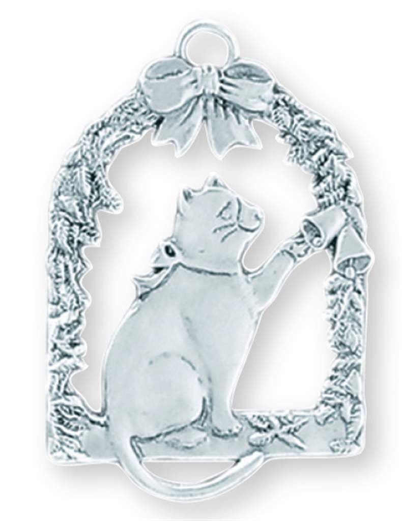 Cat in Window Ornament SC-40S