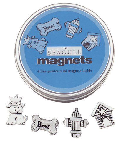 DOGS MAGNET TIN TNM-9