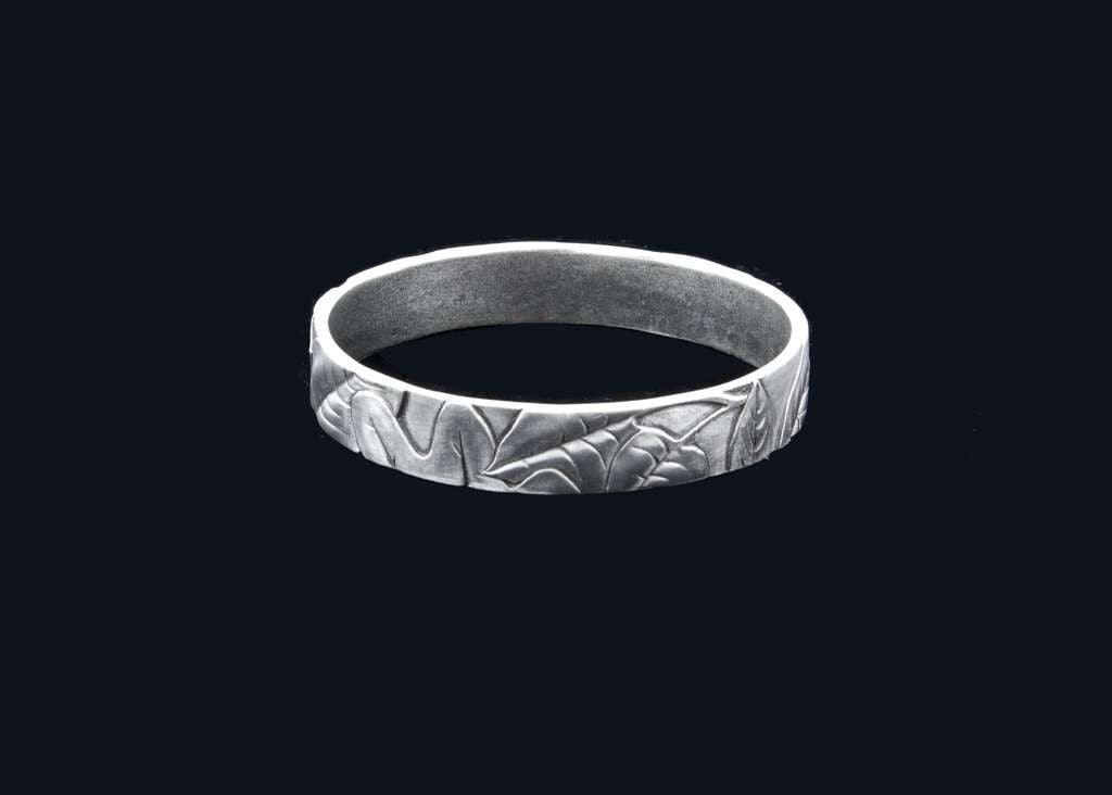 Fossil Leaves Bangle
