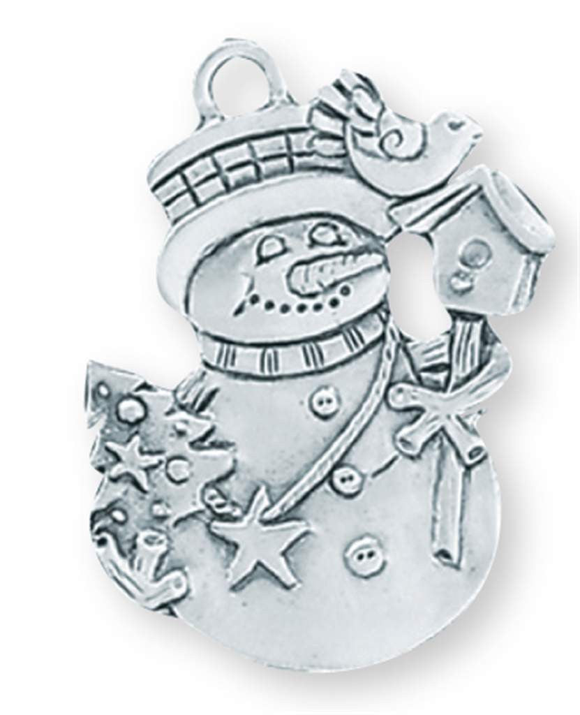 Frosty Visitor Ornament SC-297