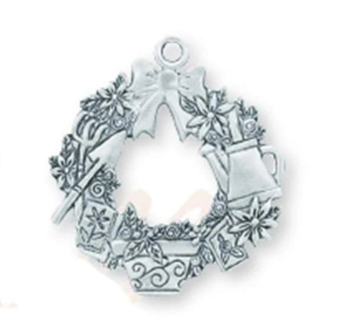 Gardening Wreath Ornament SC-365