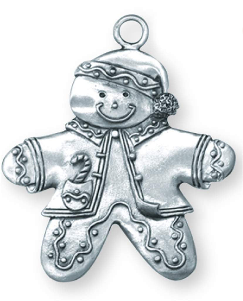 Gingerbread Boy Ornament SC-395s