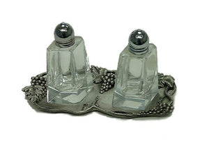 Grape Salt & Pepper Set with Tray TG-23s