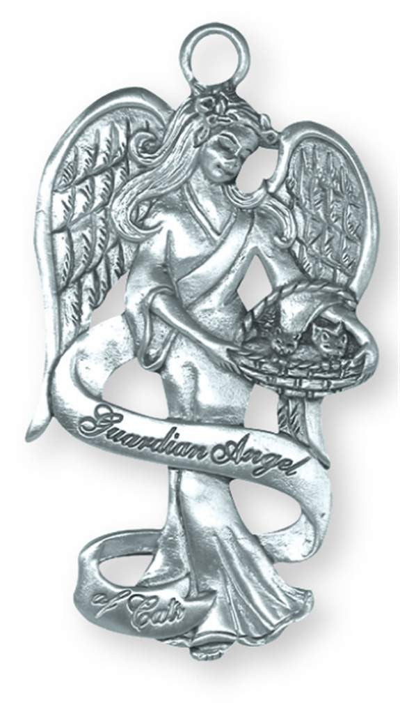 Guardian Angel of Cats Ornament PA-18