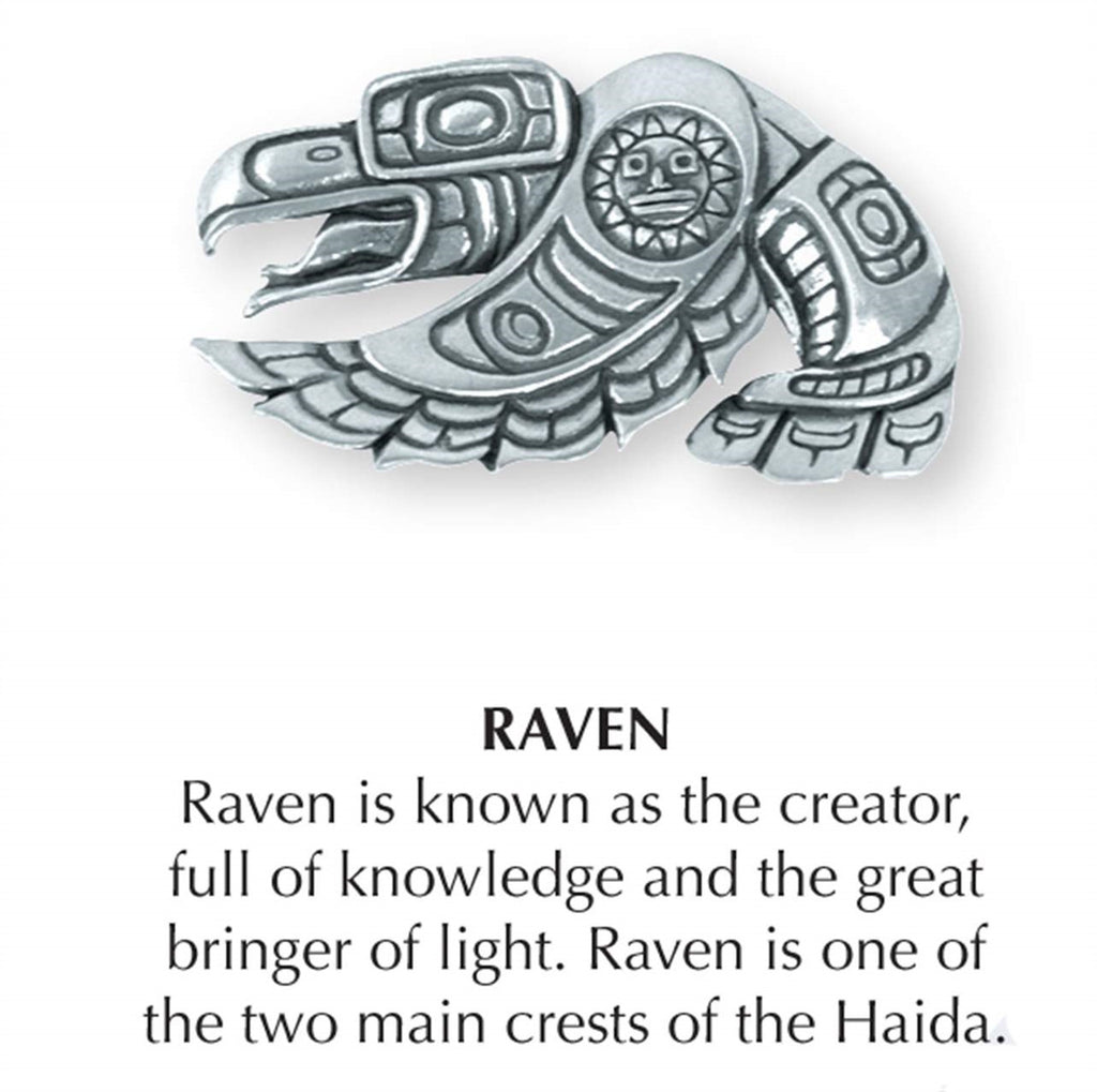 Haida Raven Jewelry Pin JP-285