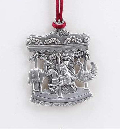 Holiday Carousel Ornament SC-587