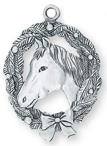 Horse / Wreath Ornament SC-375s