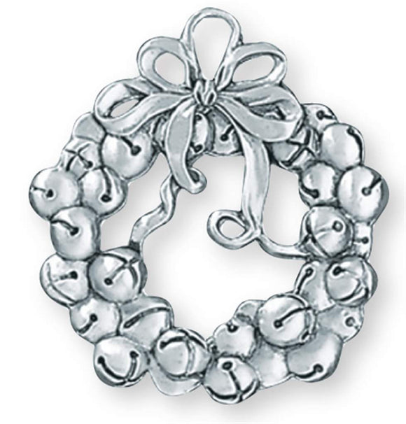 Jingle Bells Wreath Ornament SC-275