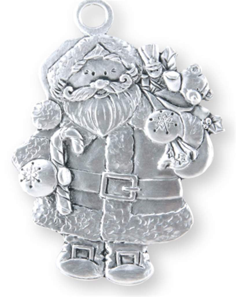 Jolly Santa Ornament SC-540