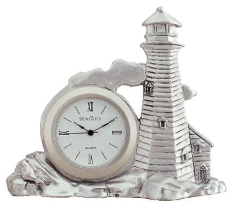 LIGHTHOUSE SMALL CLOCK