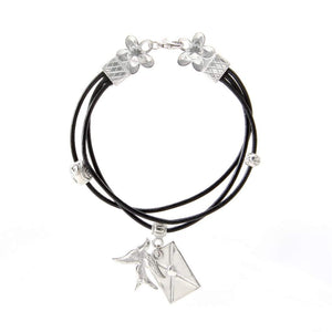 Messenger Bracelet Leather BG-74
