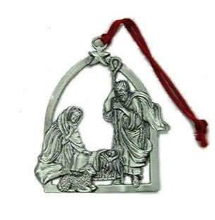 Nativity Scene Ornament Lg LC-14