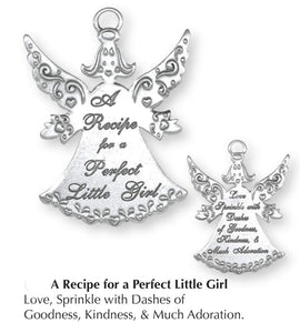 Perfect Little Girl Recipe Orn. SC-10010
