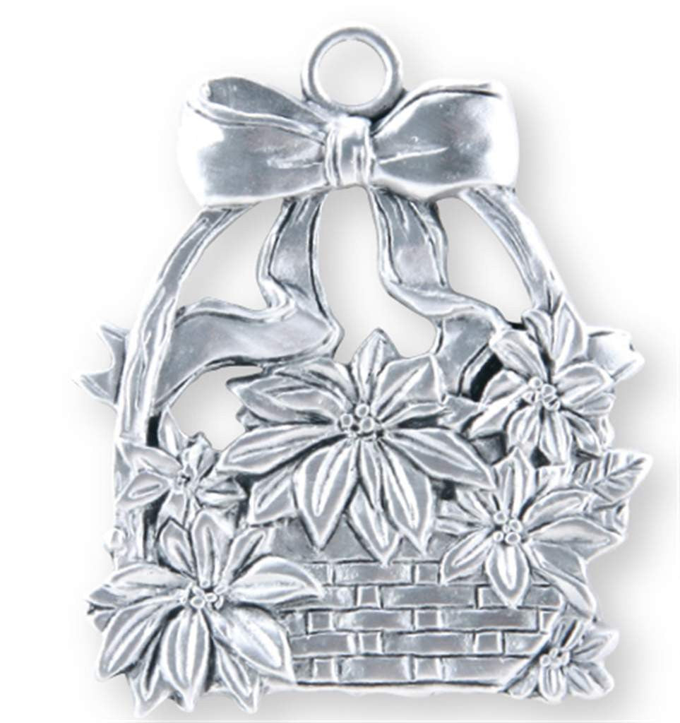 Poinsettia Ornament SC-528