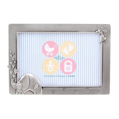 Elephant baby 4x6 picture frame